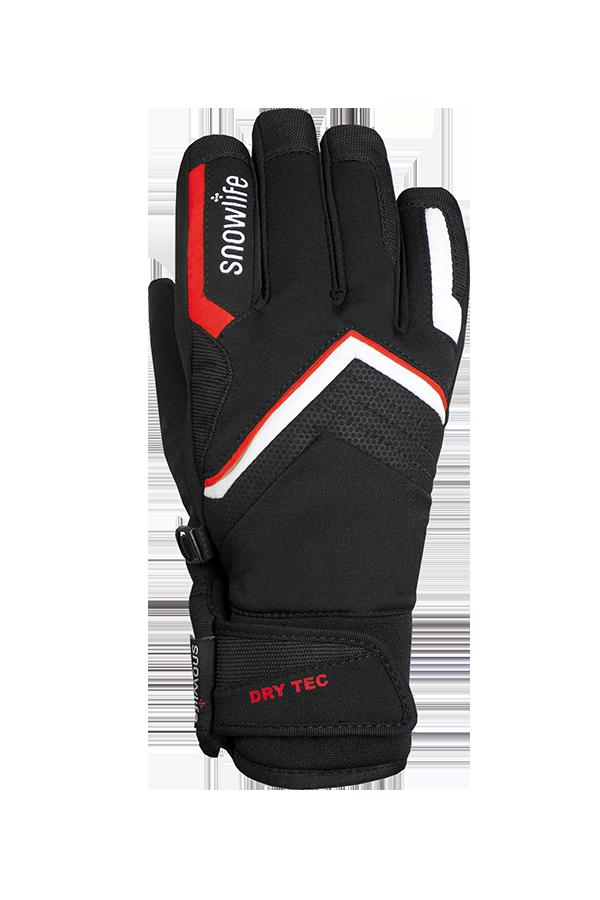 Juniors Rapid DT Glove, Gants pour jeunes, Race, rouge