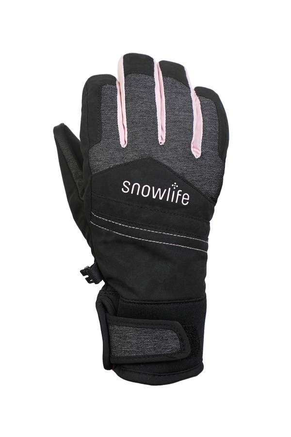 Freeride, Children KidsFreeride, Children Kids,Gloves with Gore-Tex membrane, black, rose,Gloves with Gore-Tex membrane, black, blue