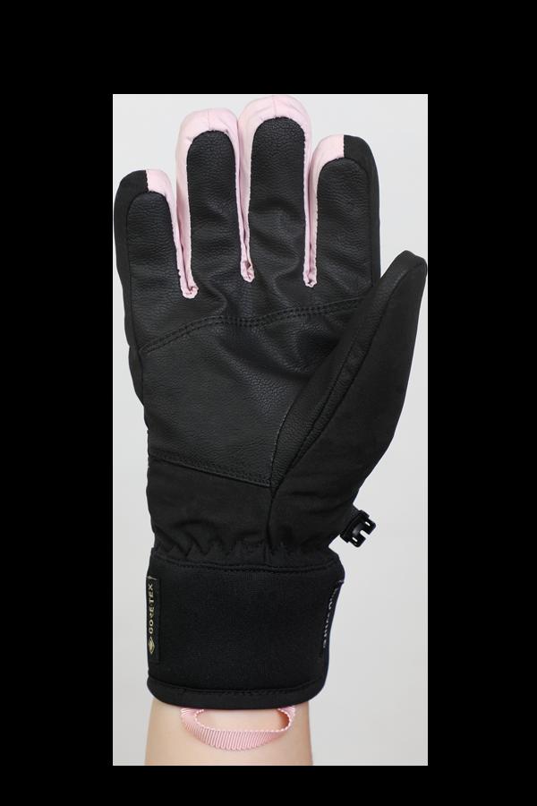 Freeride, Children Kids,Gloves with Gore-Tex membrane, black, rose