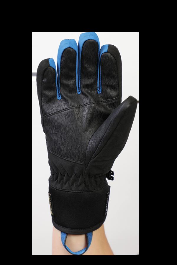 Freeride, Children Kids,Gloves with Gore-Tex membrane, black, blue