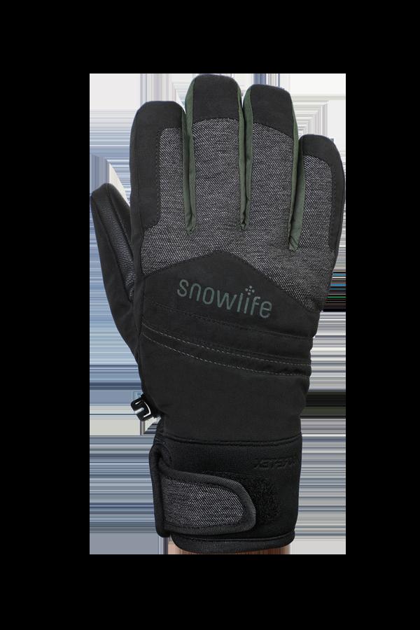 Venture GTX Glove, Freeride, Handschuhe mit Gore-Tex Membran, schwarz, olive grün
