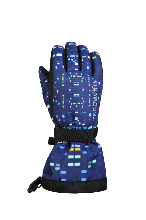 Kinds Long Cuff DT Glove, blue, colored light