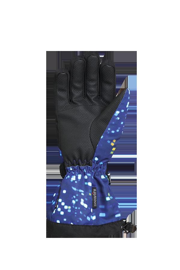Kids Long Cuff DT Glove, Gants pour enfants avec longue manchette, bleu