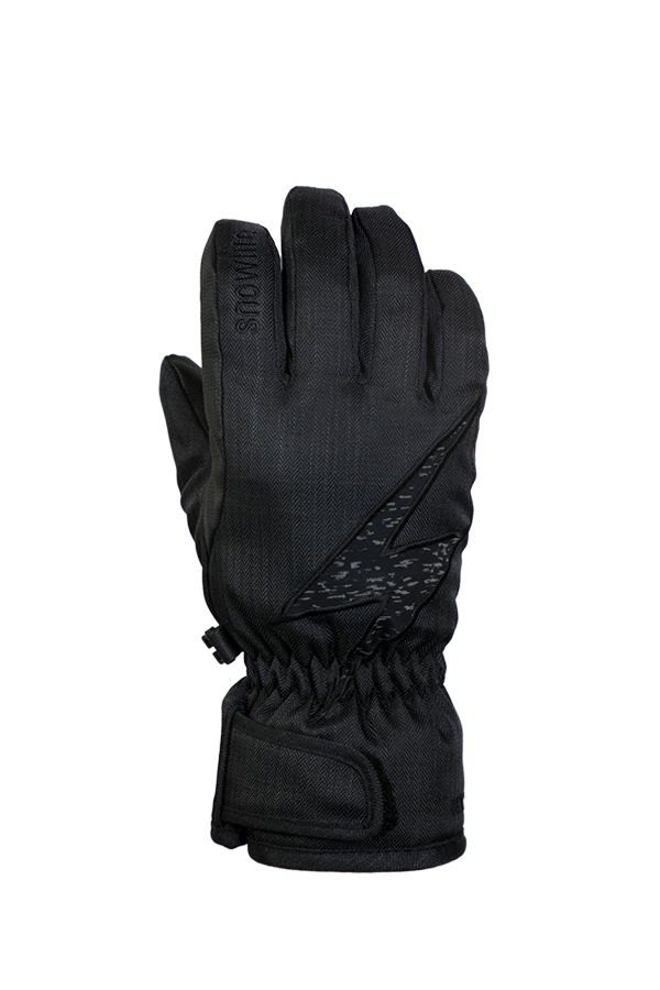 Kids Sirius DT Glove, Kids gloves, very warm, windproof, water-repellent, black