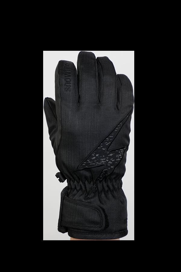 Kids Sirius DT Glove, Kinderhandschuhe, sehr warm, windabweisend, wasserabweisend, schwarz