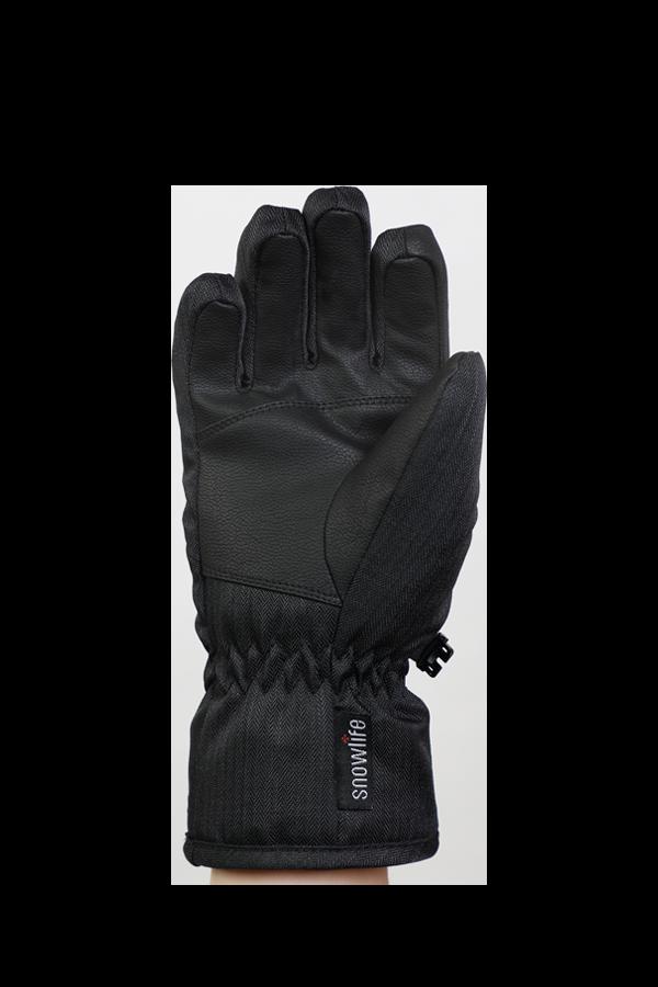 Kids Sirius DT Glove, Kids gloves, very warm, windproof, water-repellent, black