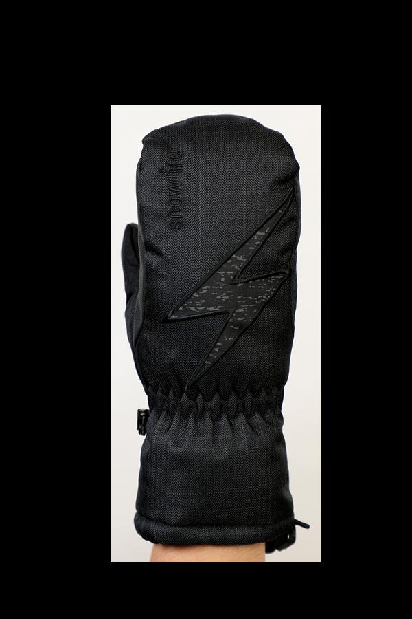 Kids Sirius DT Glove, moufles, Gants pour enfants, très chaud, coupe-vent, imperméable, noir