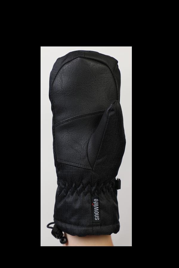 Kids Sirius DT Mitten, Kids gloves, very warm, windproof, water-repellent, black