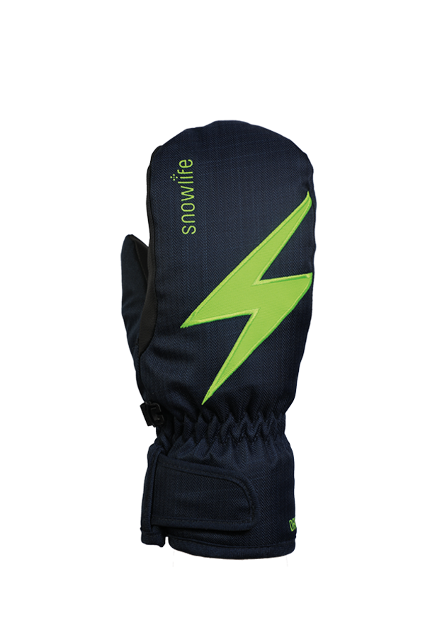 Kids Sirius DT Glove, Fausthandschuhe, Kinderhandschuhe, sehr warm, windabweisend, wasserabweisend, blau, grün