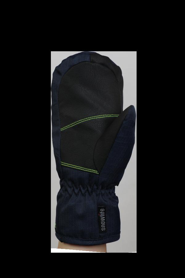 Kids Sirius DT Glove, moufles, Gants pour enfants, très chaud, coupe-vent, imperméable, bleu, vert