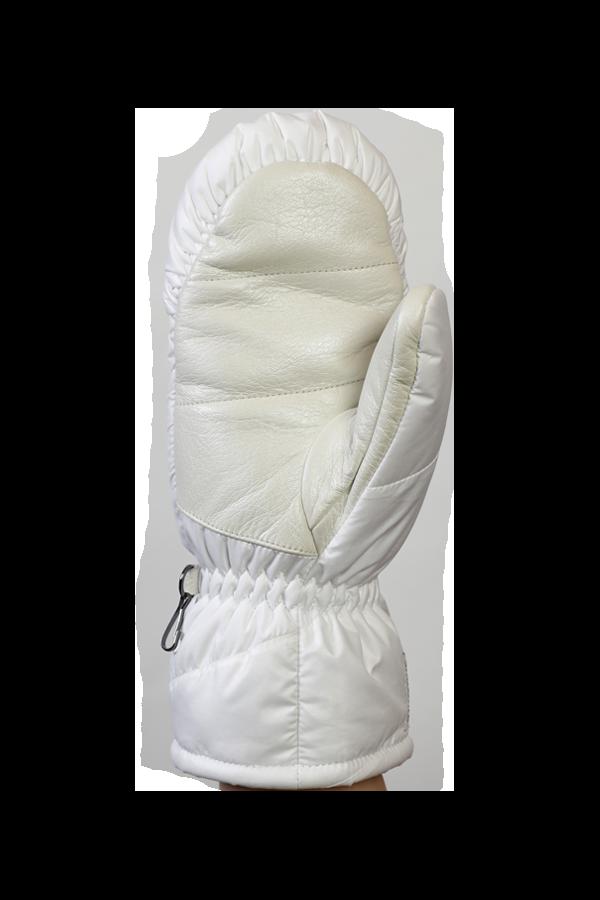 Lady Anne GTX Down Mitten, Glove with down, Gore-Tex Membran, extra warm, white
