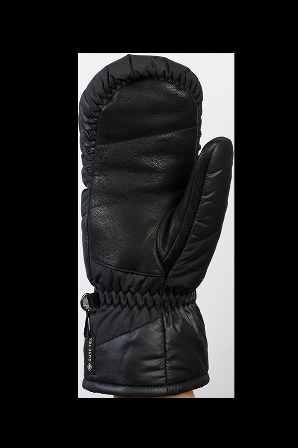Lady Anne GTX Down Mitten, Fausthandschuh, Handschuh mit Daune, Gore-Tex Membran, schwarz