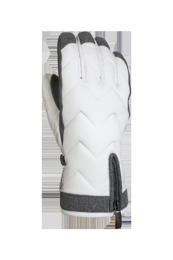 Lady Luxe Glove, Gants pour femmes, elegants, blanc