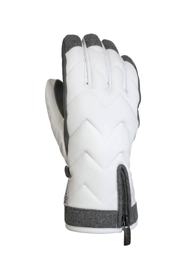 Lady Luxe Glove, Gloves elegant, modern design, white