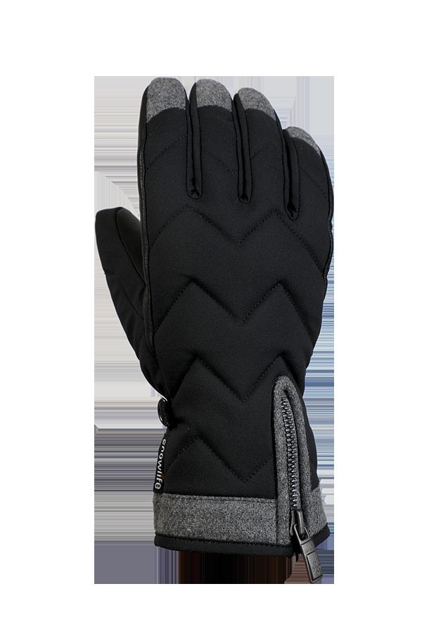 Lady Luxe Glove, Gants pour femmes, elegants, noir