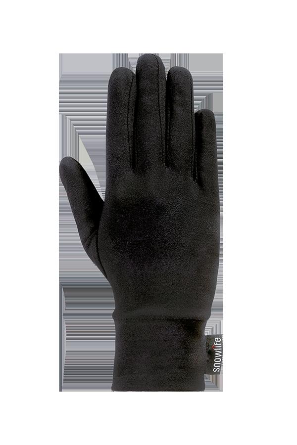Lycra Liner Glove, Gants, noir