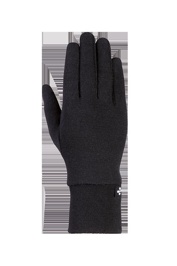 Merino Liner Glove, Gants, noir