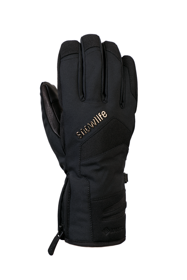 Nevada GTX Glove, the sporty glove with Gore-Tex membrane, very breathable and robust, black