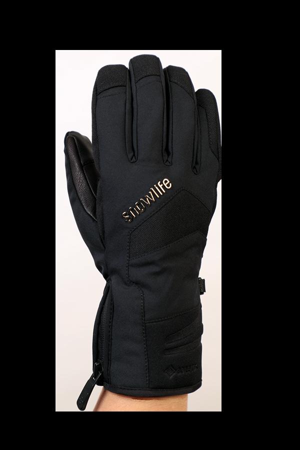 Nevada GTX Glove, le gant sportif avec membrane Gore-Tex, très respirant et robuste, noir