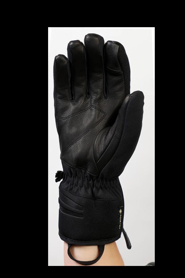 Nevada GTX Glove, der sportliche Handschuh mit Gore-Tex Membran, sehr atmungsaktiv und robust, schwarz