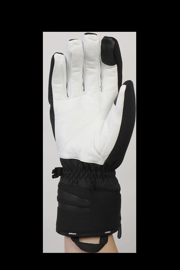 Nevada GTX Glove, le gant sportif avec membrane Gore-Tex, très respirant et robuste, noir et blanc