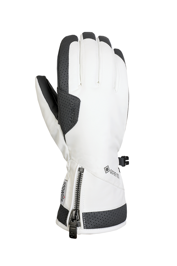 Ovis GTX Glove, Gants avec Gore-Tex Membran, blanc