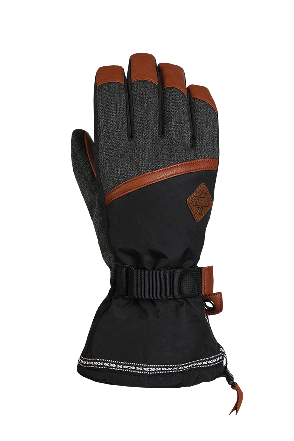Rider DT Glove, Freeride, brown, black