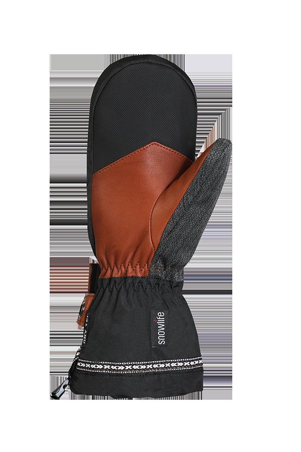 Rider DT Glove, Gants, Moufles Freeride, cuir, brun