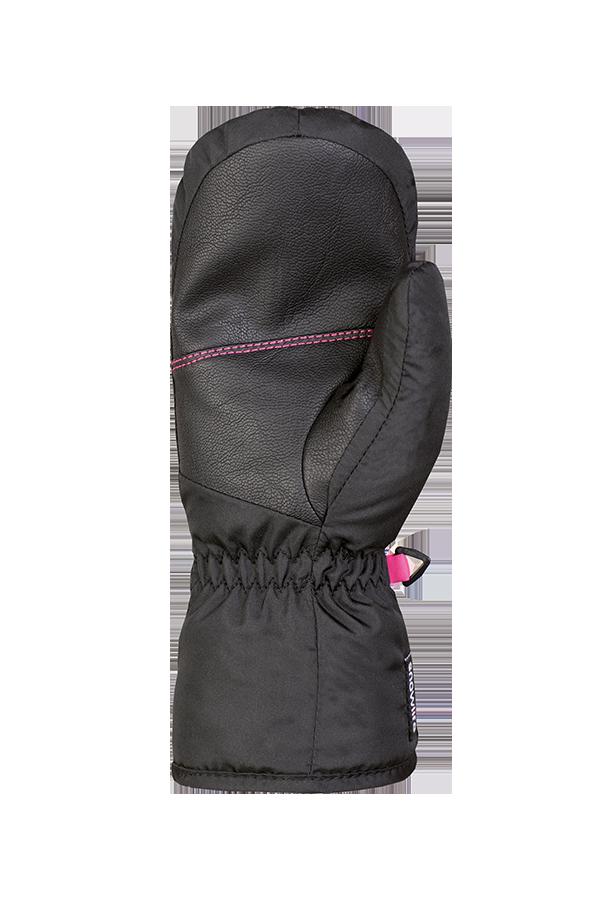 Scratch Mitten, Gloves, black, rosa