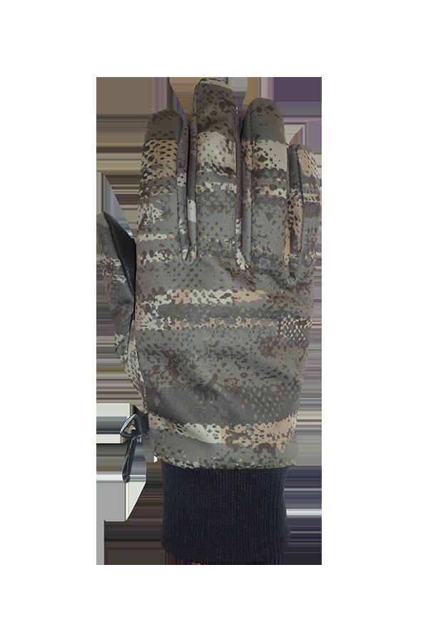 Soft Shell Outdoor Glove, green, nature