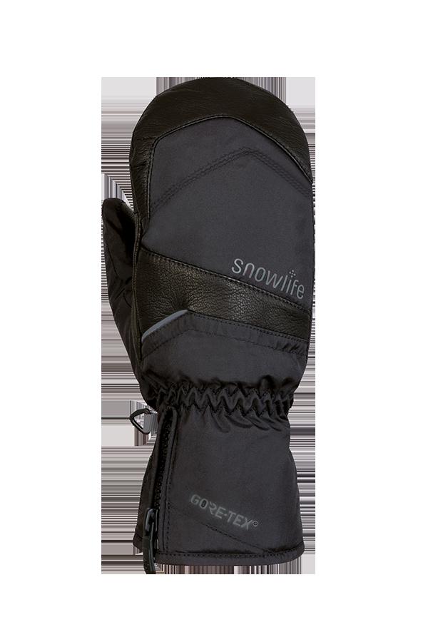 Super GTX Mitten, Gloves with Gore-Tex Membrane, black