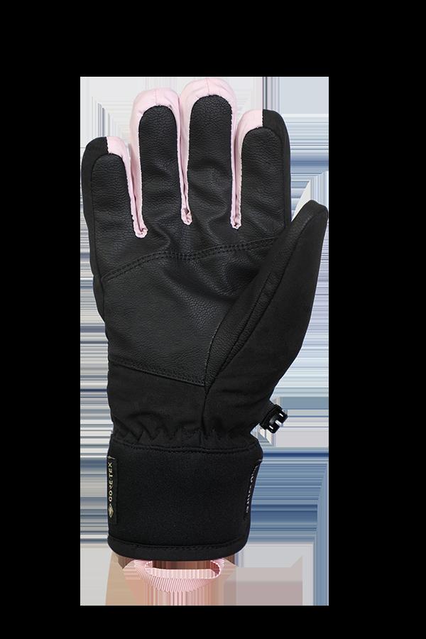 Venture GTX Glove, Gloves with Gore-Tex Membran, Freeride, black, rosa