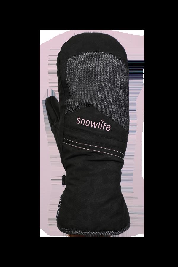 Venture GTX Glove, Moufles, Gants avec Gore-Tex Membran, freeride, noir, rosa