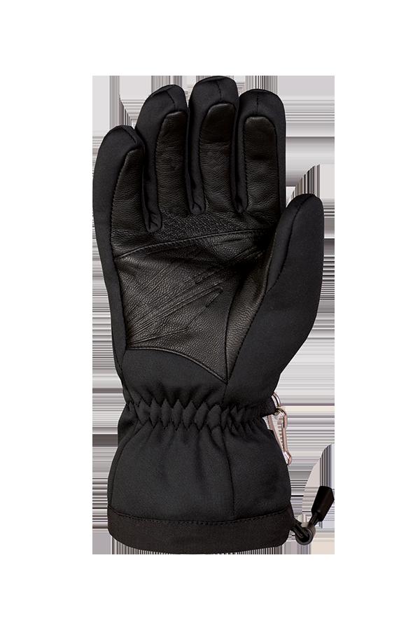 WS Soft Shell Glove, Gants avec Gore-Tex windstopper, noir