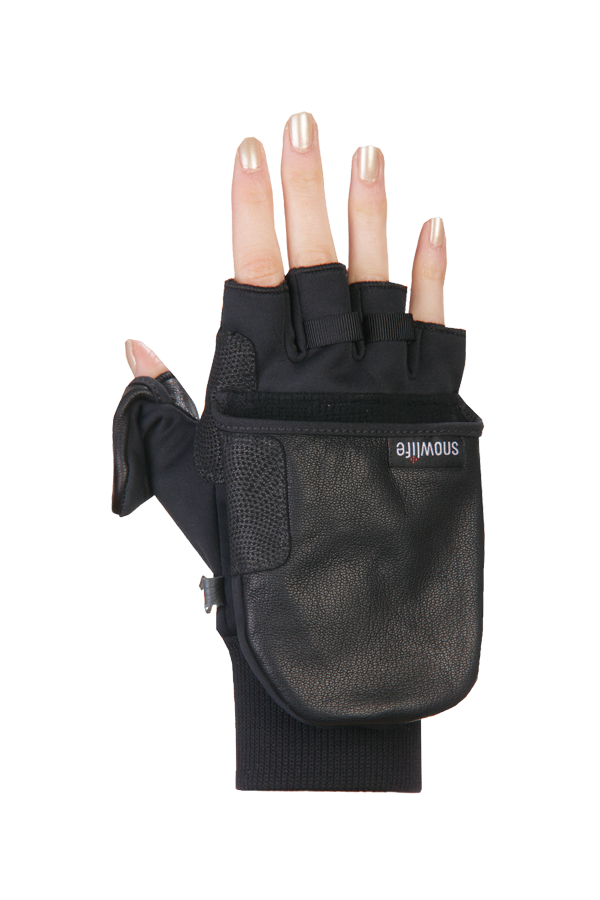 WS Soft Shell Glove, with Cap, black