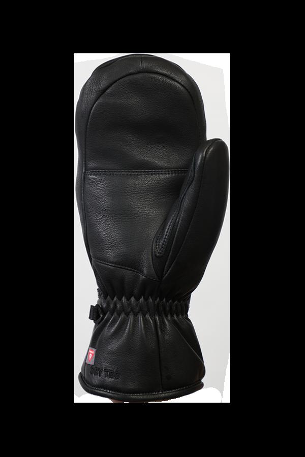 Lady Grand Soft Mitten, Leder,Fausthandschuh mit Primaloft, für Frauen, schwarz