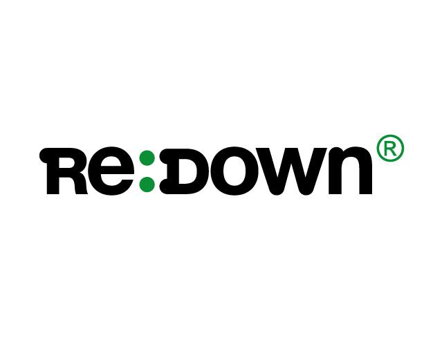 Re:Down Logo, duvet recyclé