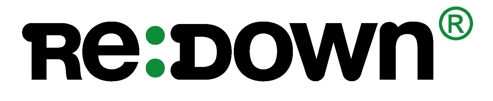 ReDown Logo, recyclete Daune